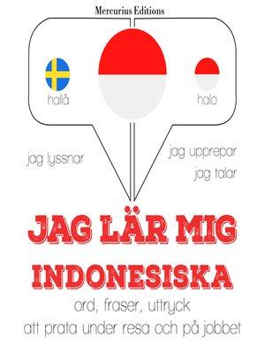 cover image of Jag lär mig indonesiska