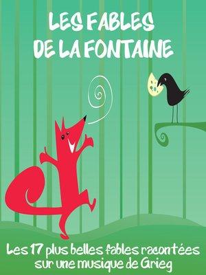 cover image of Les 17 plus belles fables de Jean de la Fontaine