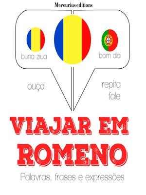 cover image of Viajar em romeno