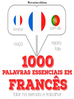 cover image of 1000 palavras essenciais em francês