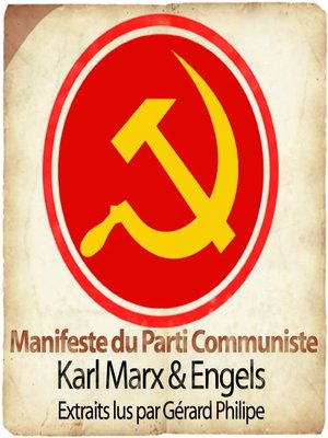 cover image of Manifeste du Parti Communiste
