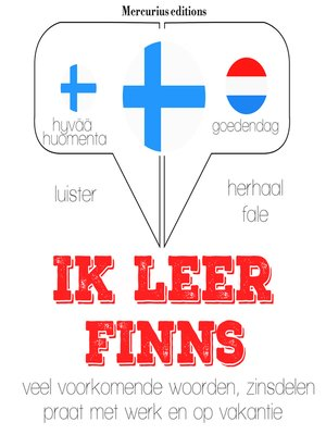 cover image of Ik leer Fins