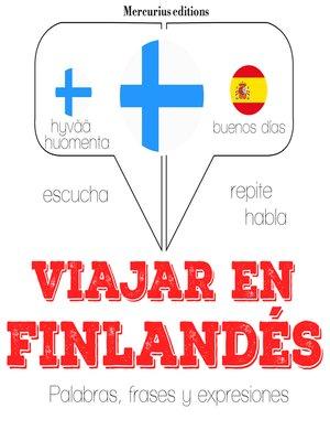cover image of Viajar en finlandés