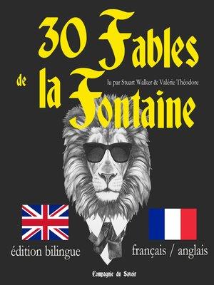 cover image of J'apprends l'anglais avec les fables de La Fontaine