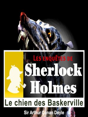 cover image of Le chien des baskerville