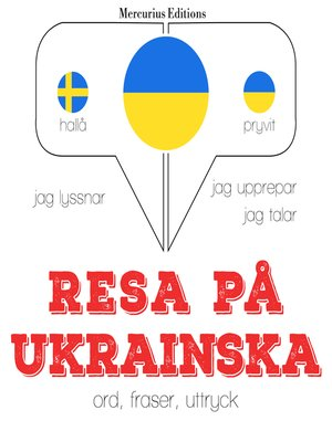 cover image of Resa på ukrainska