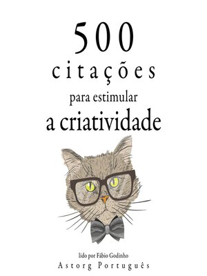 cover image of 500 citações para estimular a criatividade