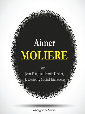 cover image of Aimer Molière