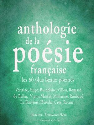 cover image of Anthologie de la poésie française