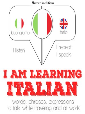 cover image of I am Learning Italian