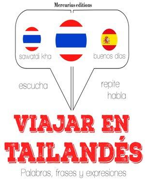 cover image of Viajar en tailandés