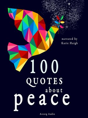 cover image of 100 Quotes about Peace