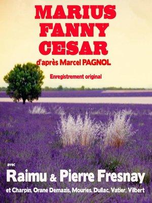 cover image of Marius Fanny César