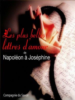 cover image of Lettres d'amour de Napoléon