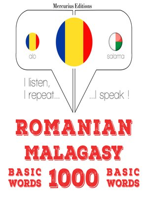 cover image of Romanian-Malagasy: 1000 basic words