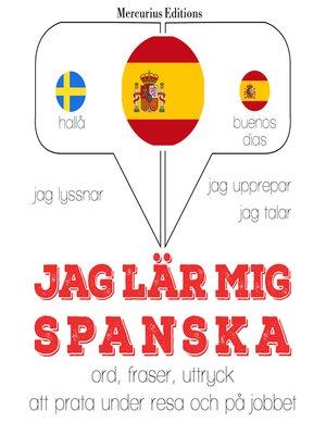 cover image of Jag lär mig spanska