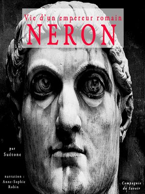 cover image of Néron, vie d'un empereur romain