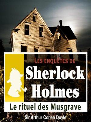 cover image of Le rituel des Musgrave
