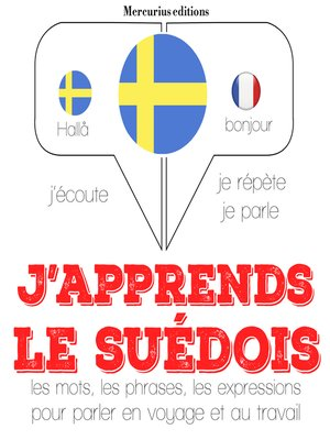 cover image of J'apprends le suédois