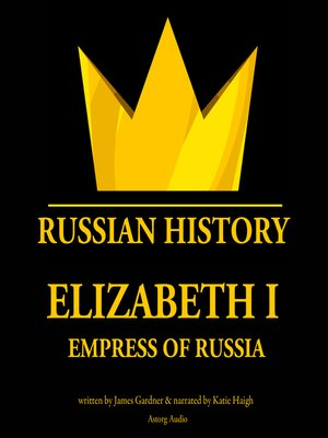 cover image of Elizabeth I, Empress of Russia