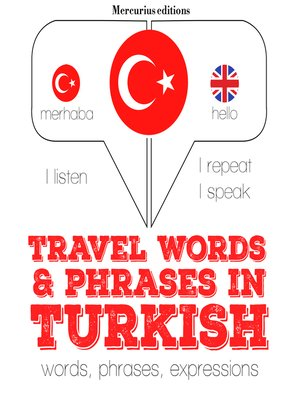 cover image of Travel Words and Phrases in Turkish