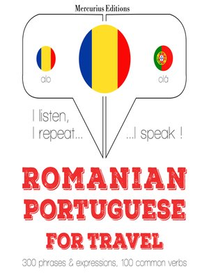 cover image of Romanian-Portuguese: For travel