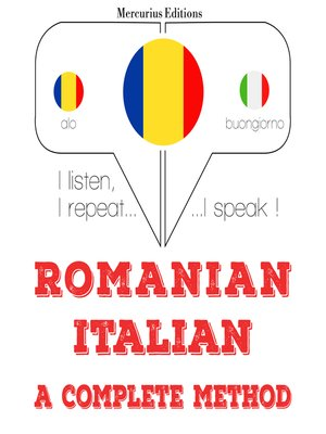 cover image of Romanian - Italian: a complete method