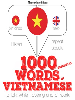 cover image of 1000 essential words in Vietnamese