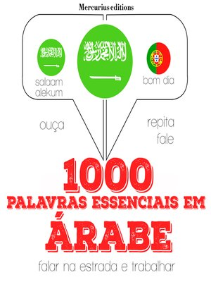 cover image of 1000 palavras essenciais em árabe