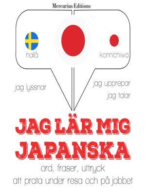 cover image of Jag lär mig japanska