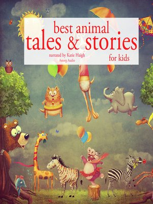 cover image of Best Animal Tales and Stories