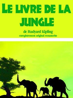 cover image of Le livre de la jungle