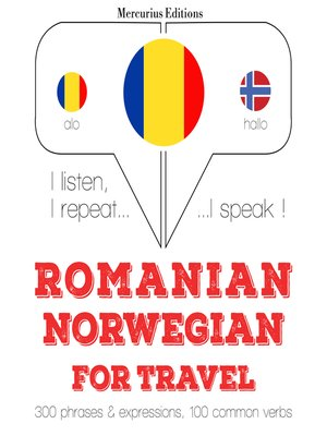 cover image of Romanian-Norwegian: For travel