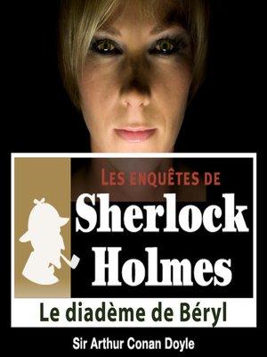 cover image of Le diadème de béryl