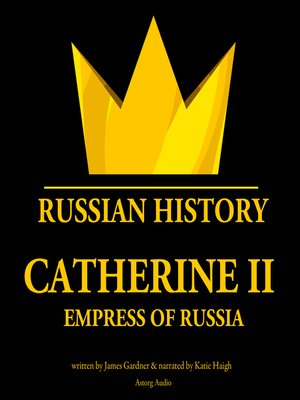 cover image of Catherine II, Empress of Russia