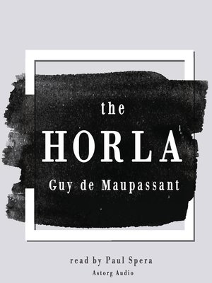 cover image of The Horla