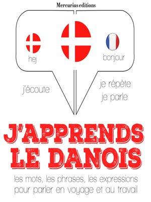 cover image of J'apprends le danois