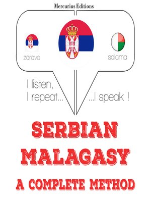 cover image of Serbian-Malagasy: a complete method