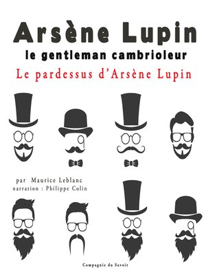 cover image of Le pardessus d'Arsène Lupin