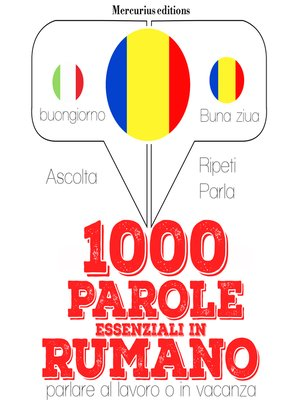 cover image of 1000 parole essenziali in Rumeno