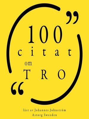 cover image of 100 citat om ödet