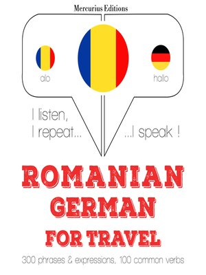 cover image of Romanian-German: For travel