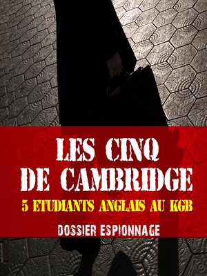 cover image of Les cinq de Cambridge