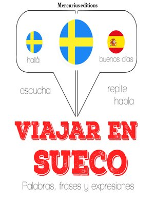 cover image of Viajar en sueco