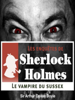 cover image of Le vampire du Sussex