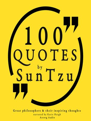 cover image of 100 Quotes by Sun Tzu