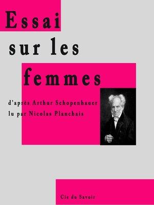 cover image of Essai sur les femmes
