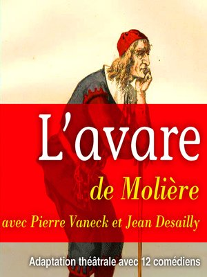 cover image of L'avare