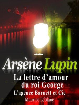 cover image of La lettre d'amour du Roi George