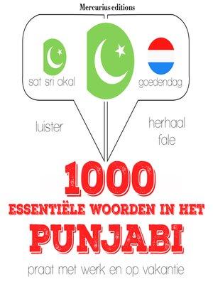 cover image of 1000 essentiële woorden in het Punjabi
